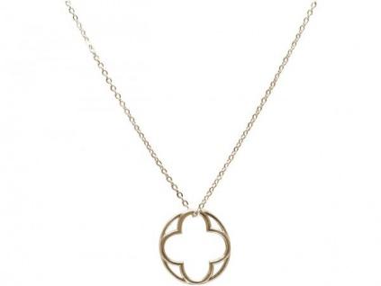 Halskette Anhänger 925 Silber Mandala Blumen des Lebens 2 cm
