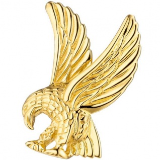 Anhänger Adler 585 Gold Gelbgold Gold Anhänger