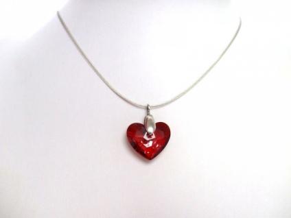 Truly in Love Herz Halskette Silber WITH SWAROVSKI ELEMENTS®