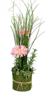 formano Dekoblume Gerbera stehend, rosa, 30 cm