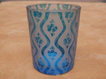 Teelichtglas HAWAII 6, 8 cm