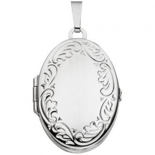 Medaillon 925 Sterling Silber rhodiniert