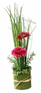 formano Dekoblume Gerbera stehend, pink, 30 cm