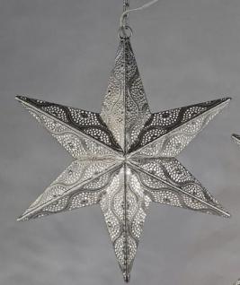 formano Hängedeko Stern als Weihnachtsstern in Capri Silber, 40 cm