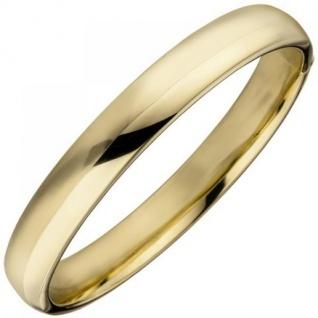 Armreif Armband 925 Sterling Silber gold vergoldet oval