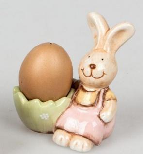 formano Eierbecher im Hasenformat, Mädchen, handbemalt, 10 cm