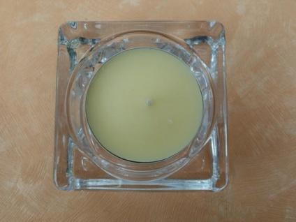 Teelichthalter aus Glas Maxi