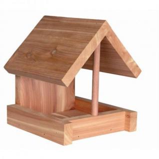 Trixie Vogel-Futterhaus aus Zedernholz 15, 5 cm