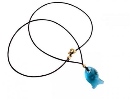 Halskette Anhänger Fisch Vergoldet WITH SWAROVSKI ELEMENTS®