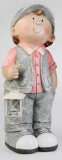 formano Gartenfigur Zwerg Bernhard stehend mit Laterne, 55 cm