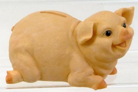 formano Spardose Sparschwein naturfarben, 20 cm