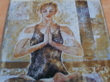 Metall-Wandbild - Yoga-Frau - Vorschau 3