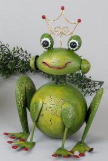 formano Windlicht Frosch aus Sunshine Metall 35 cm