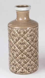 formano Blumenvase im Landhausstil aus Keramik, 15 x 32 cm