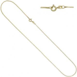 Venezianerkette 925 Sterling Silber Gold vergoldet 1, 3 mm 50 cm