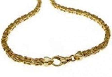 19 cm Königskette Armband - 585 Gelbgold - 2, 5mm