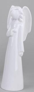 formano stehende Engelfigur eine Hand vor der Brust, 31 cm