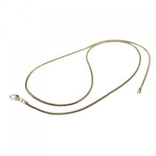 45 cm Schlangenkette - 585 Weißgold - 2, 4 mm Halskette
