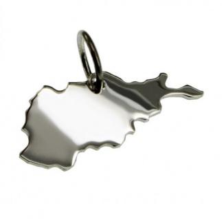 AFGHANISTAN Kettenanhänger aus massiv 925 Silber