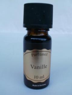Parfümöl Vanille 10 ml