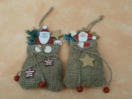 2 Weihnachtsmänner zum Aufhängen