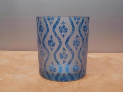 Windlicht HAWAII aus Glas, 10 cm - Vorschau 2