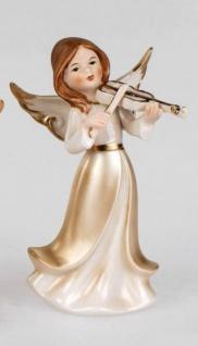 formano Engel Figur in Champagner Gold aus Porzellan, 20 cm