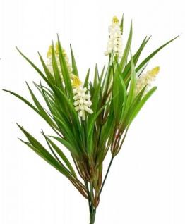 formano Deko Hyazinthe weiß gelb zum Stellen, 34 cm
