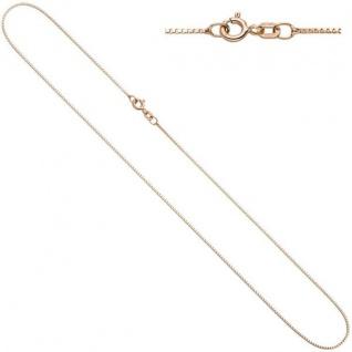 Venezianerkette 925 Silber rotgold vergoldet 0, 8 mm 50 cm Kette Halskette