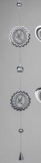 formano Dekohänger Girlande Vogel aus Edelstahl im 3D Look, 100 cm