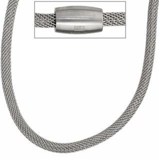 Strumpfkette Edelstahl 45 cm - 4 mm Halskette Kette