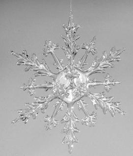 formano Hängedekoration Eiskristall Acryl klar, 30 cm