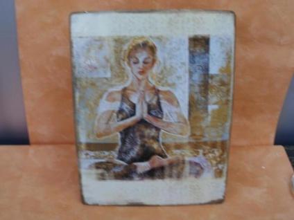 Metall-Wandbild - Yoga-Frau - Vorschau 2