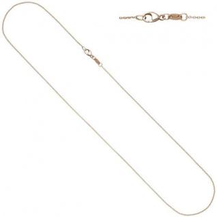 Ankerkette rund 585 Rotgold 1, 0 mm 42 cm Kette Halskette Rotgoldkette