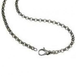 21 cm Erbskette Armband - 585 Weißgold - 3, 5 mm