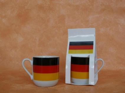Deutschland-Tasse aus Keramik