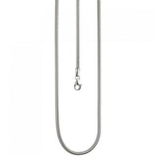 Schlangenkette 925 Sterling Silber 2, 9 mm 50 cm Kette Halskette