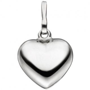 Anhänger Herz 925 Sterling Silber Herzanhänger Silberherz