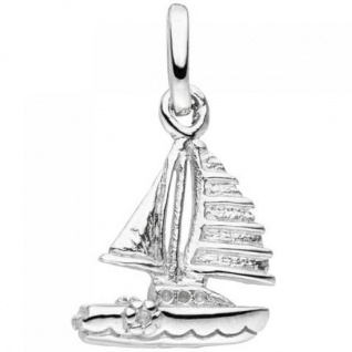 Anhänger Segelboot 925 Sterling Silber