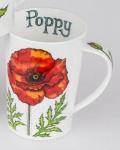 Dunoon Becher Argyll Flowers, rot, 0, 5 l