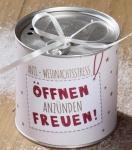 GILDE trendiger Adventskranz to go mit Spruch öffnen, 10 x 10 cm