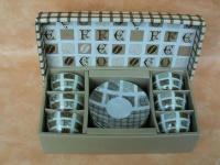 Kaffee-Set für Mocca, Espresso 12.tlg.