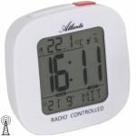 Atlanta 1873/0 Wecker Funkwecker digital weiß mit Datum Thermometer