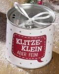 GILDE trendiger Adventskranz to go mit Spruch KLITZE KLEIN , 10 cm