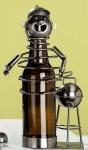 GILDE Bierflaschenhalter aus lackiertem Metall, 2 tlg. 16 x 22 x14 cm