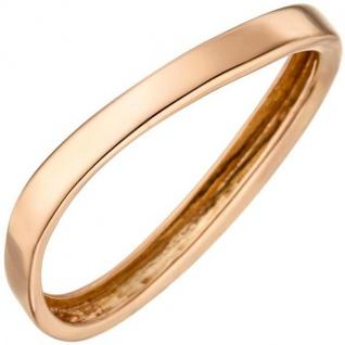 Damen Ring 375 Rotgold Rotgoldring