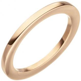 Damen Ring 585 Rotgold Rotgoldring