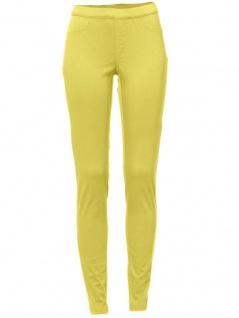 B.C. Damen Jeans-Leggings Hose lang Leggins Röhre Stretch gelb 022084 033795 - Vorschau 4