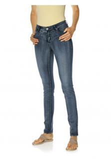 B.C. Damen Skinnyhose Hose Röhre Jeans Skinny Stretch jeansblau Kurzgröße 161467