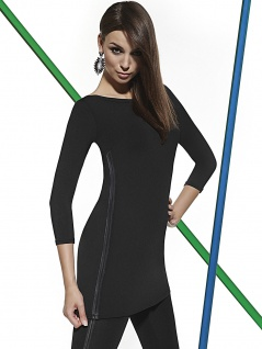 Fashion Top Bluse Shirt T-Shirt Tunika Kleid elastisch Stretch Kendal